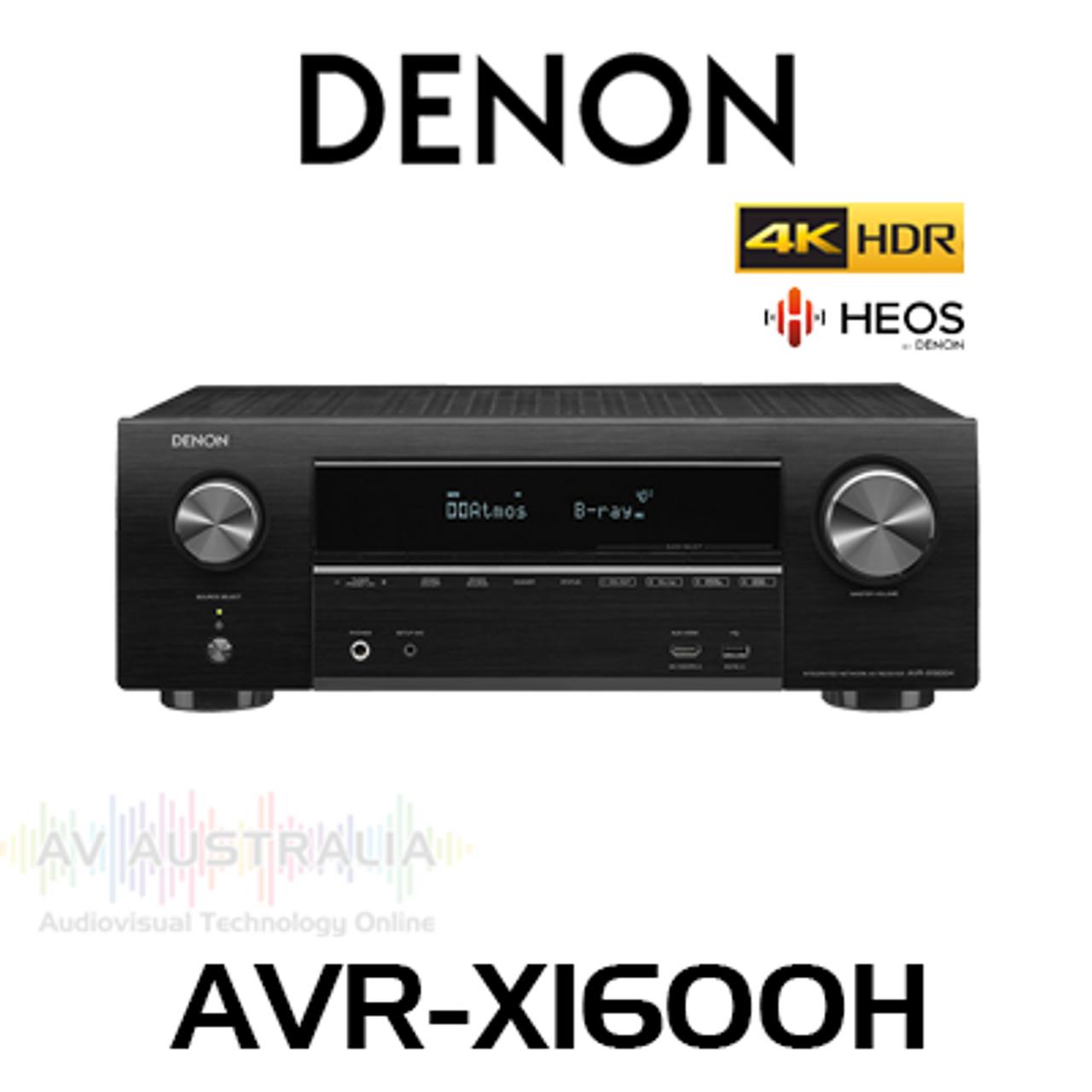 denon avr-x1600h user manual