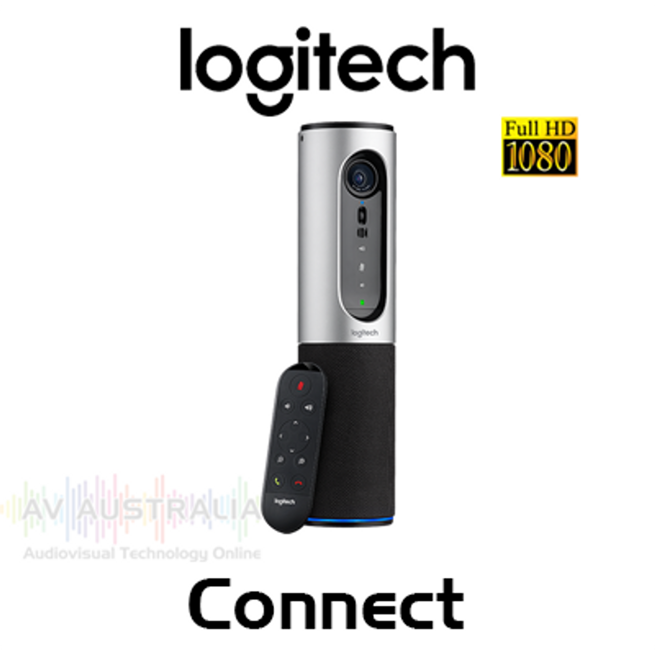 Logitech Connect Full HD Portable Video Conferencing Camera