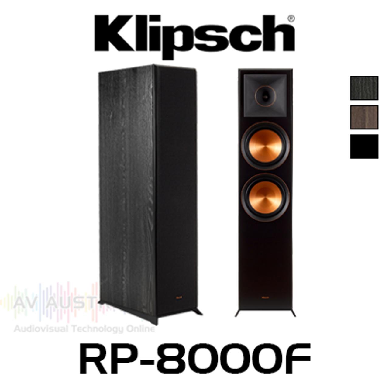 "Klipsch RP-8000F Dual 8"" Cerametallic Floorstanding Speakers (Pair)"