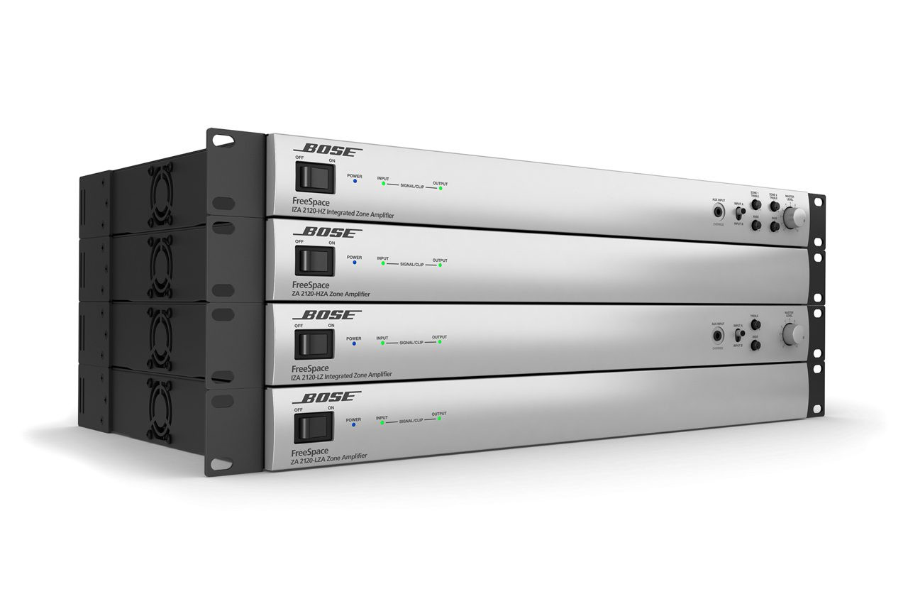 Bose Pro FreeSpace ZA 2120-HZA 70/100V Zone Amplifier