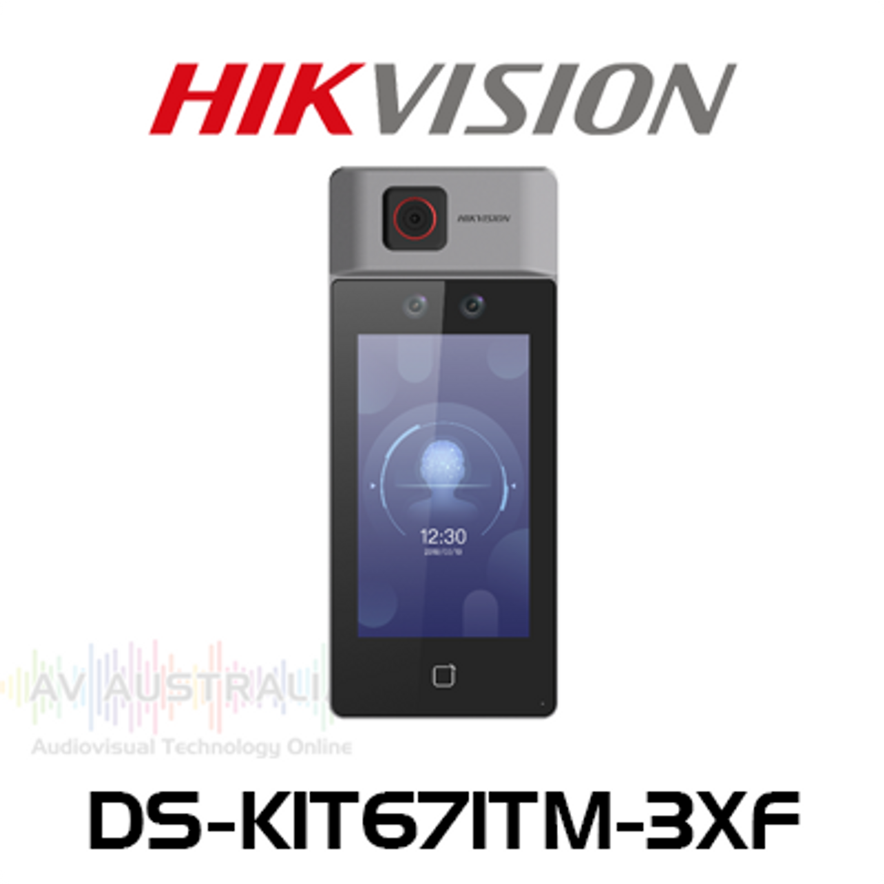 "Hikvision DS-K1T671TM-3XF 7"" LCD Face Recognition Terminal with Temperature Screening"