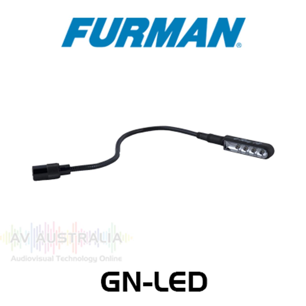 Furman GN-LED 12VAC BNC Gooseneck LED Lamp
