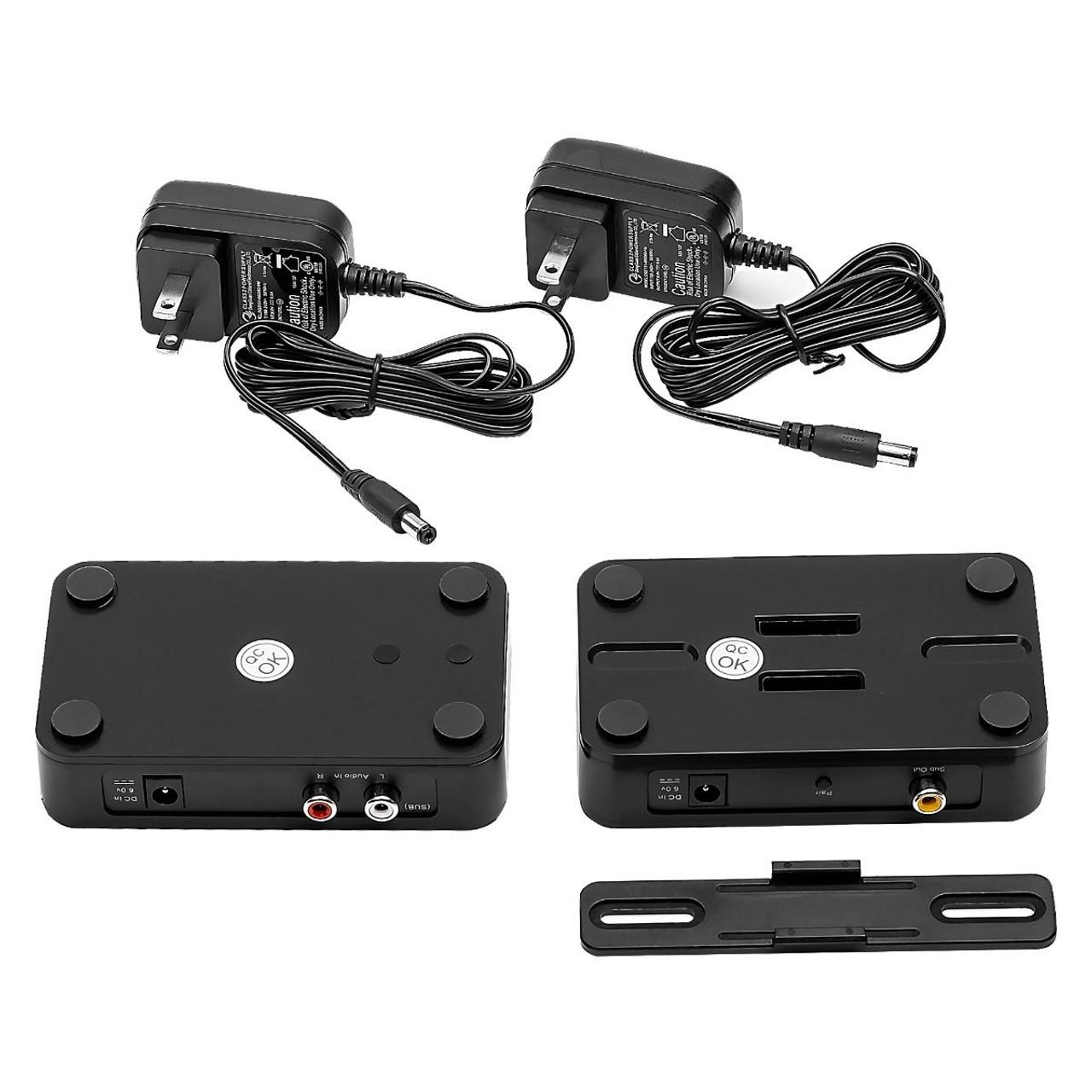 OSD Black NERO-WSA Wireless Subwoofer Transmitter & Receiver Kit