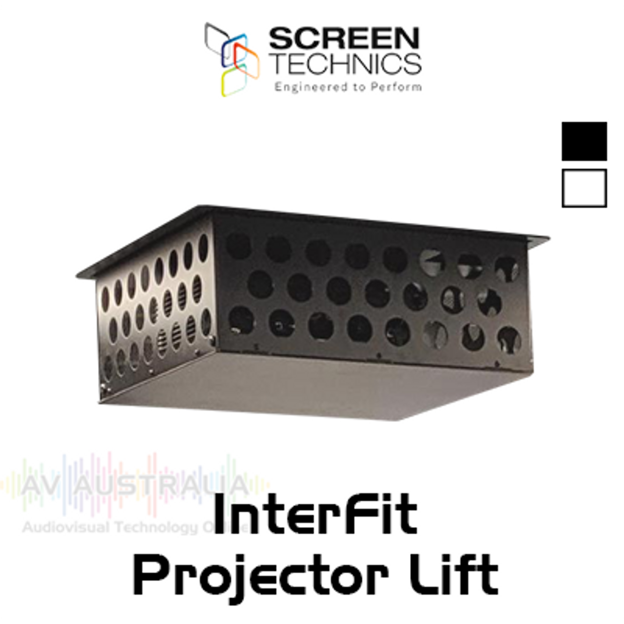 ST Interfit In-Ceiling Motorised Projector Lifts