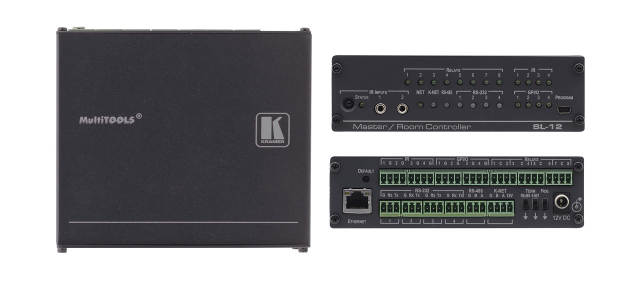 Kramer SL-12 21-Port Serial, IR & Relay, Ethernet Room Controller