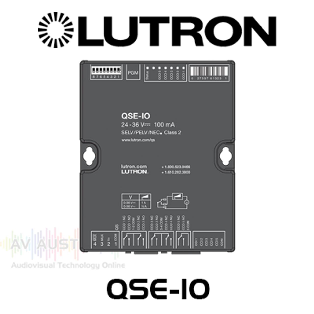 Lutron QS 5 Inputs 5 Outputs Contact Closure Interface