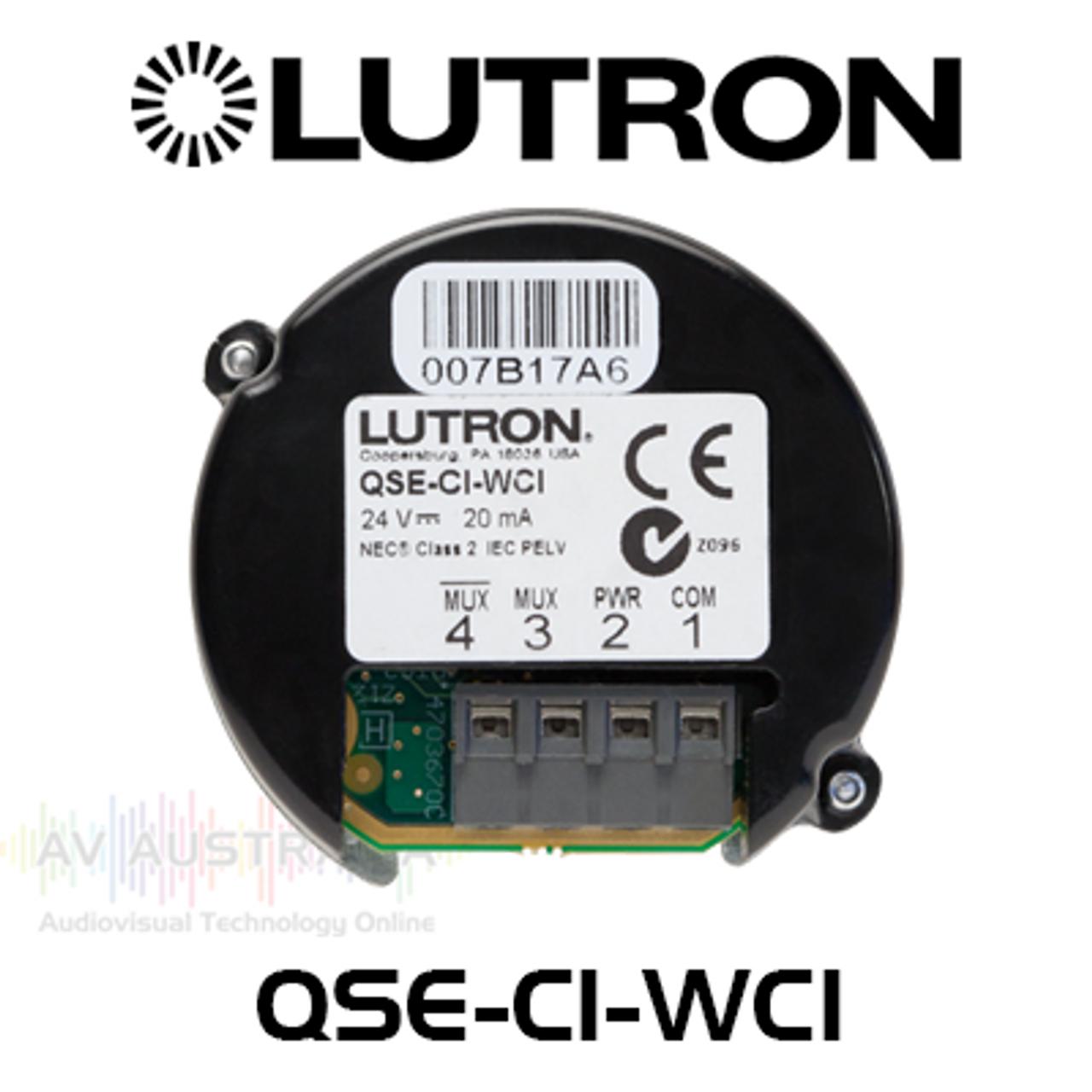 Lutron QS Wallbox Closure Interface