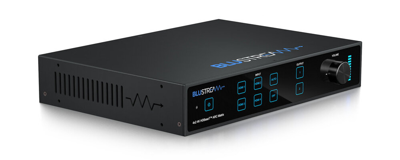 BluStream Essential 4x2 4K HDR HDMI 2.0 HDBaseT CSC ARC Matrix Kit