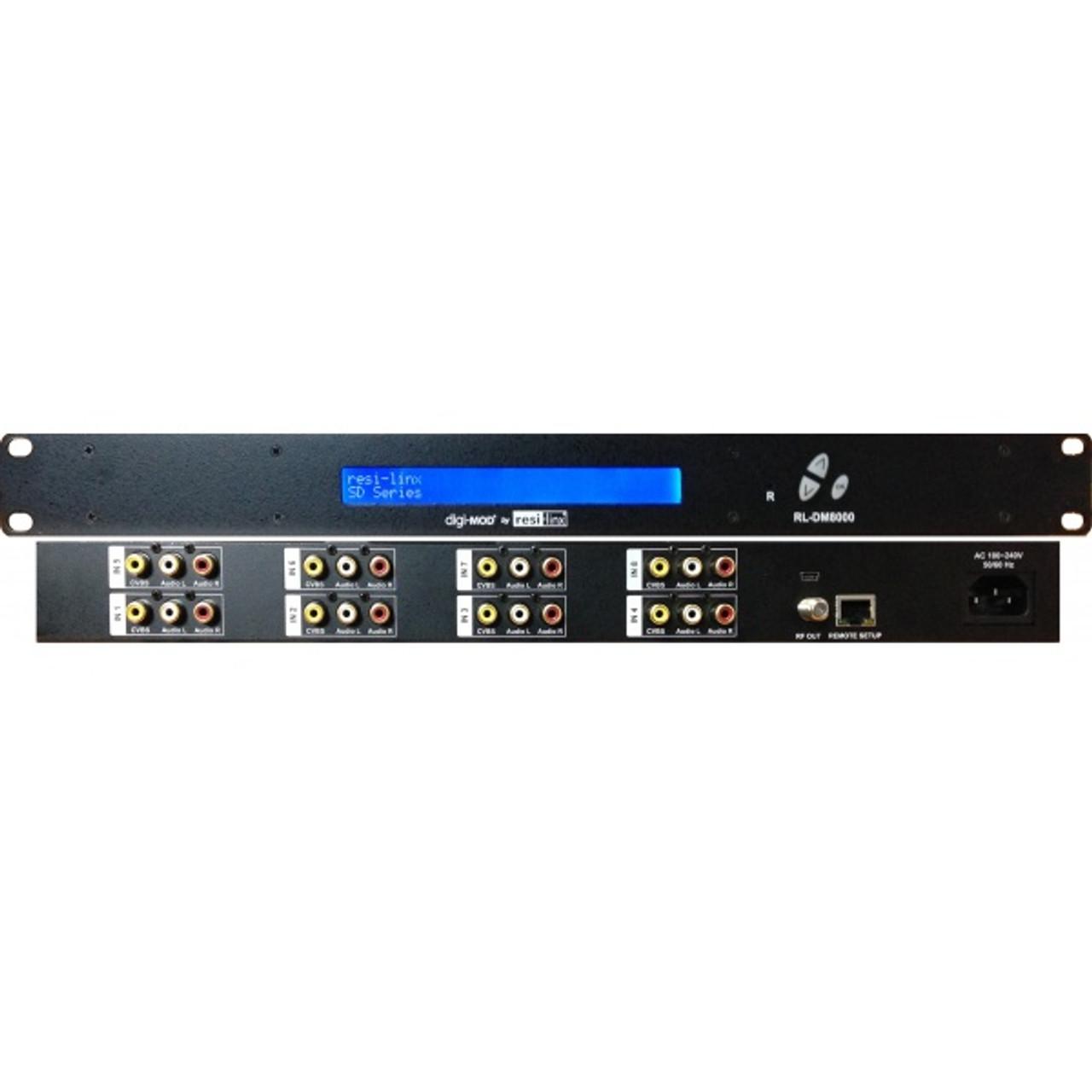 Resi-Linx DM8000 - 8 Input SD DVB-T Modulator