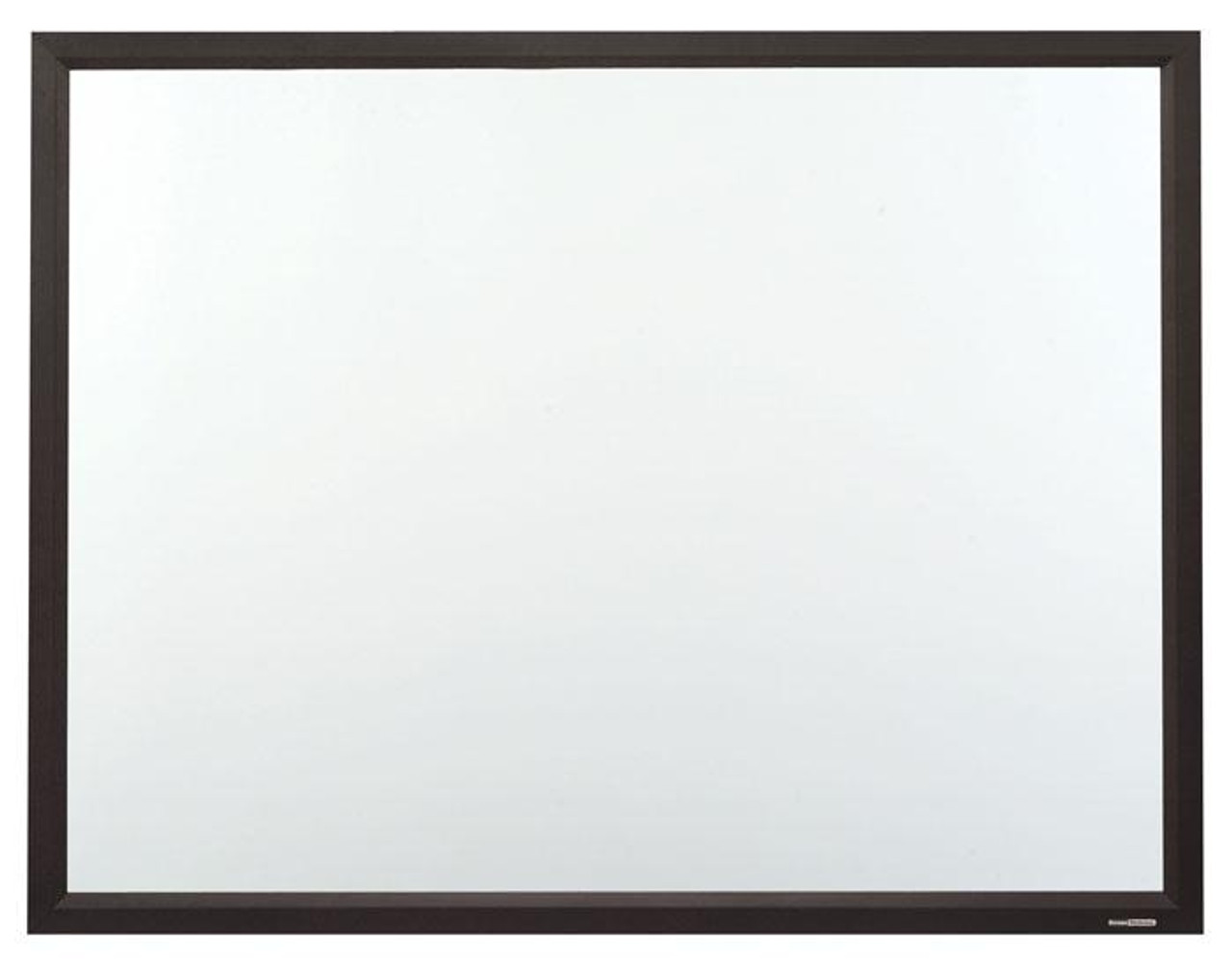 ST CinemaSnap Matt White Fixed Frame Projection Screens with Black Powdercoat Finish