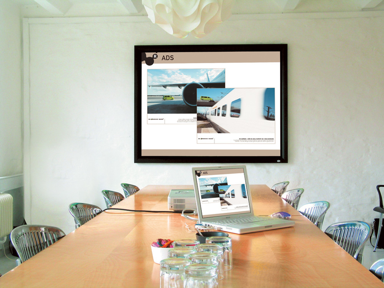 DNP Supernova One High Contrast Optical Projection Screens
