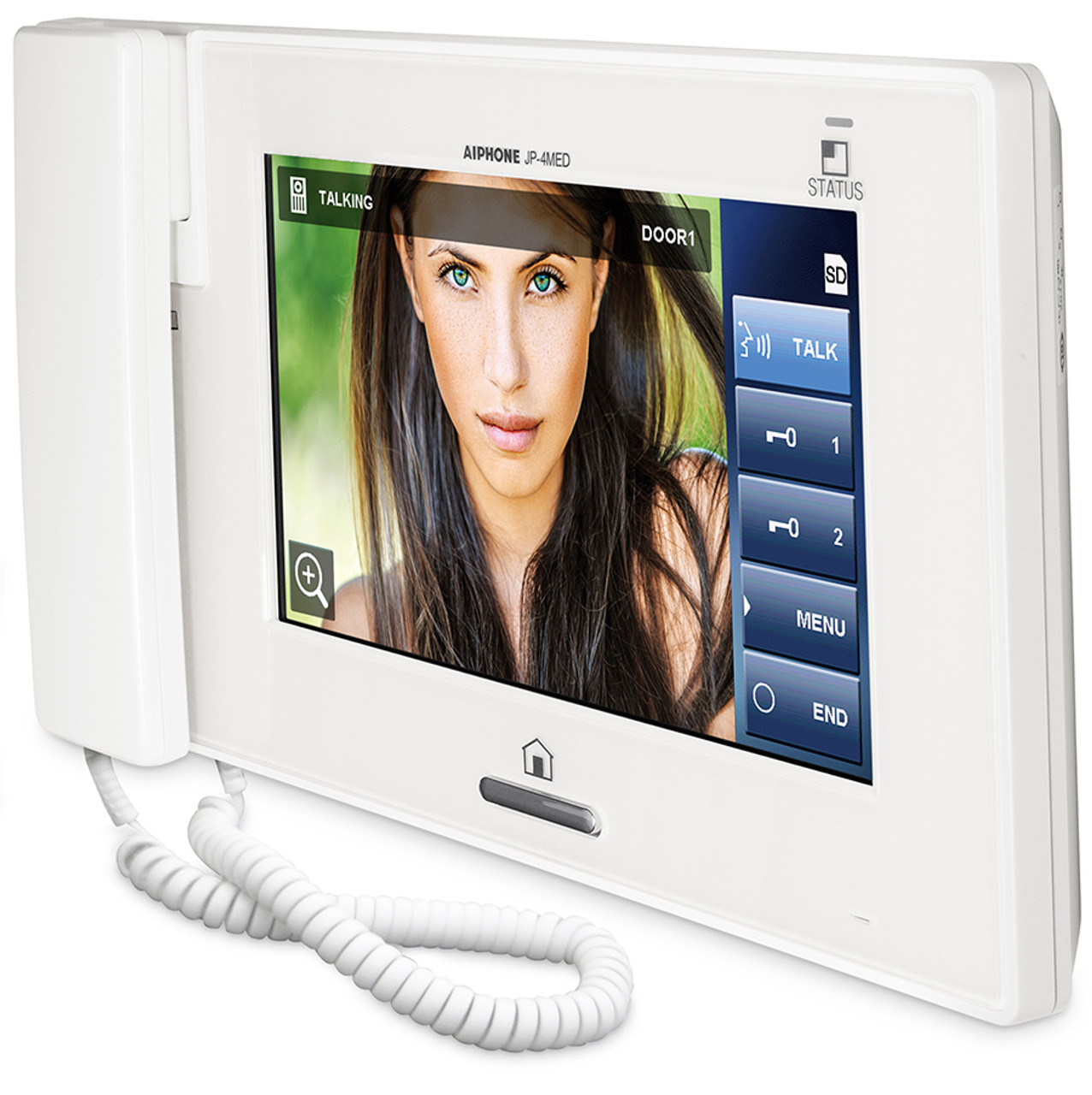 Aiphone Jp 4med 7 Quot Lcd Touch Screen Ptz Video Intercom