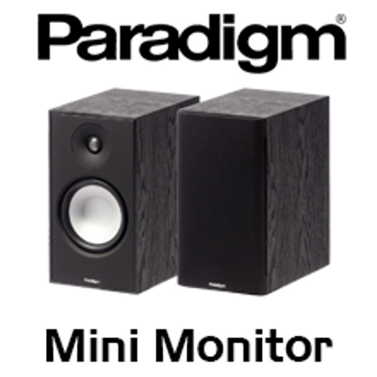 Paradigm Mini Monitor V7 65 2 Way Bass Reflex Bookshelf Speakers