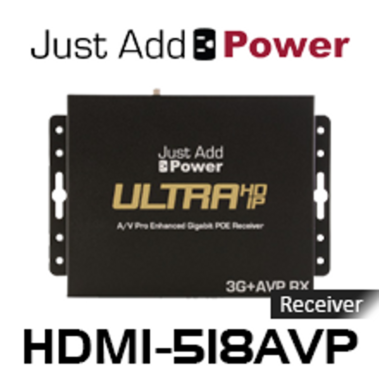 JAP HDMI-518AVP 3G 4K Ultra HD Over IP AVPro Scaler Receiver