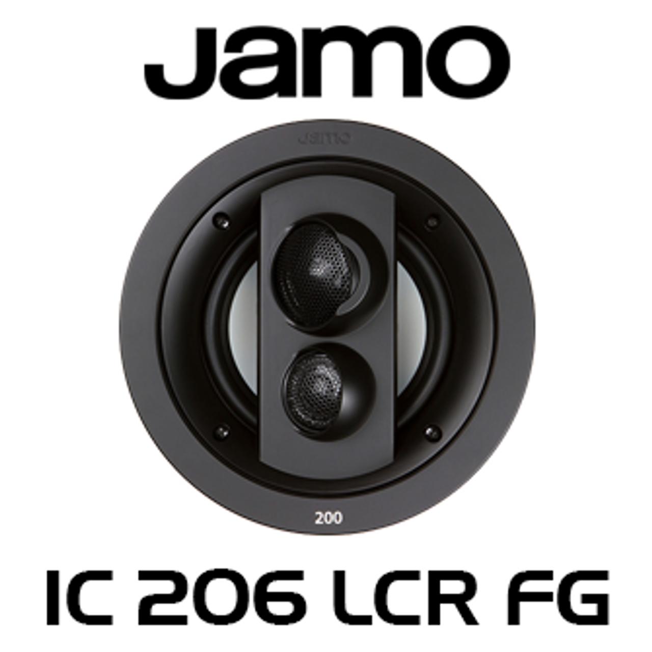 Jamo Ic206 Lcr Fg 6 5 Img 3 Way In Ceiling Speaker Each