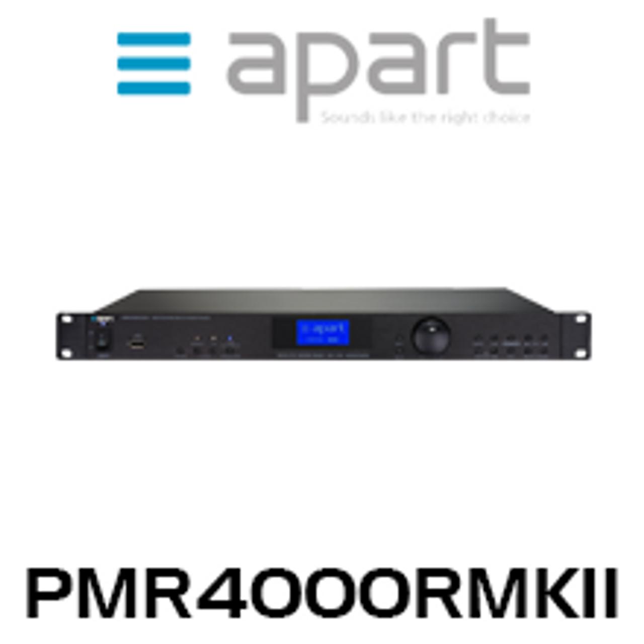 APart PMR4000RMKII Music Player with Internet Radio/ FM/ USB/ UPNP