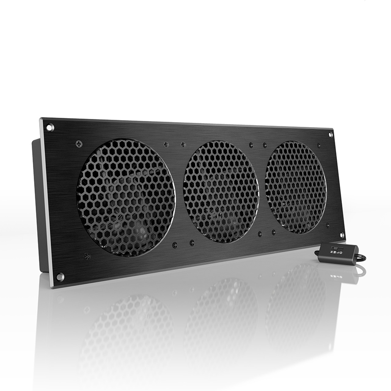 AC Infinity Airplate S9 Trio 120mm AV Cabinet Cooling Fan