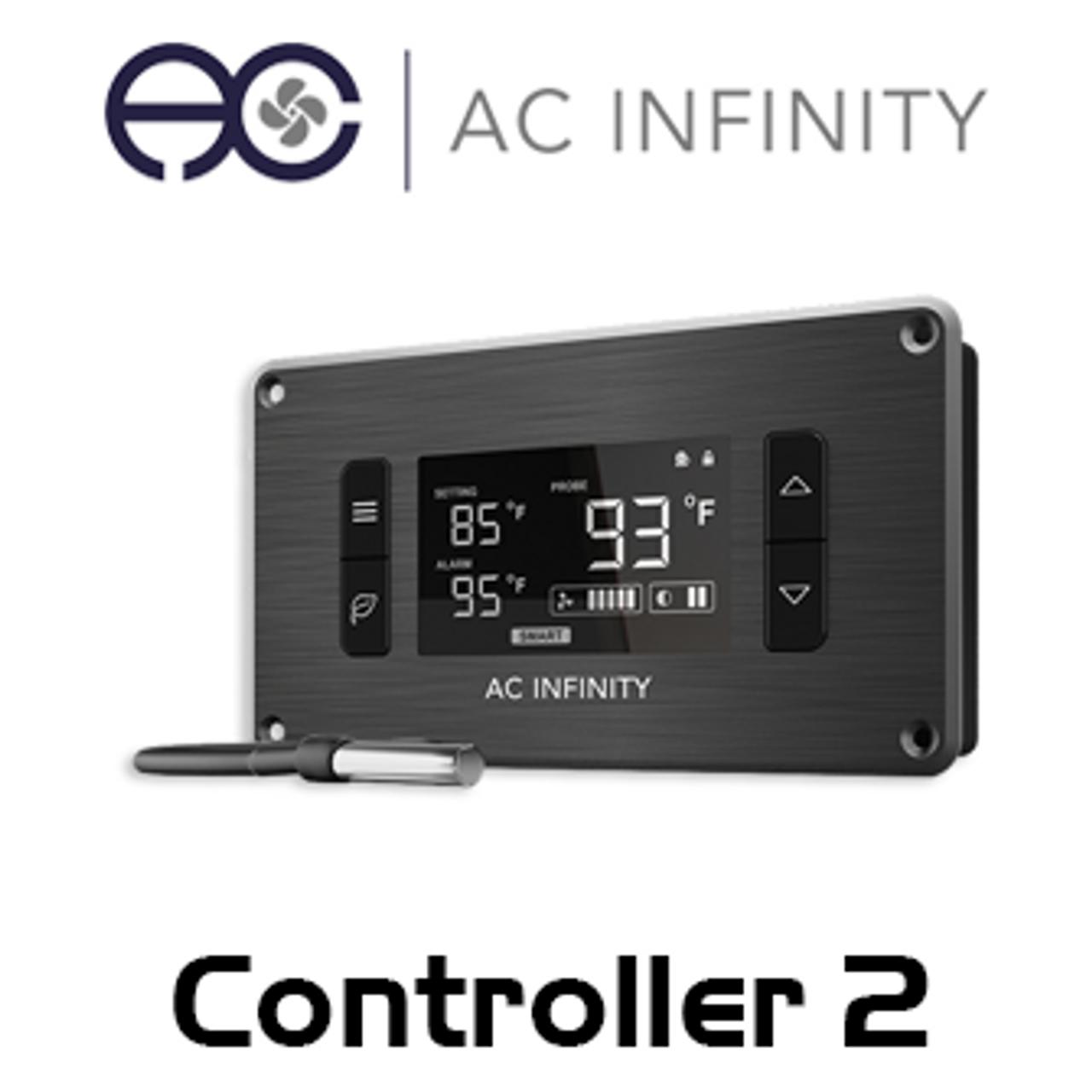AC Infinity Single Zone Intelligent Thermal Fan Controller
