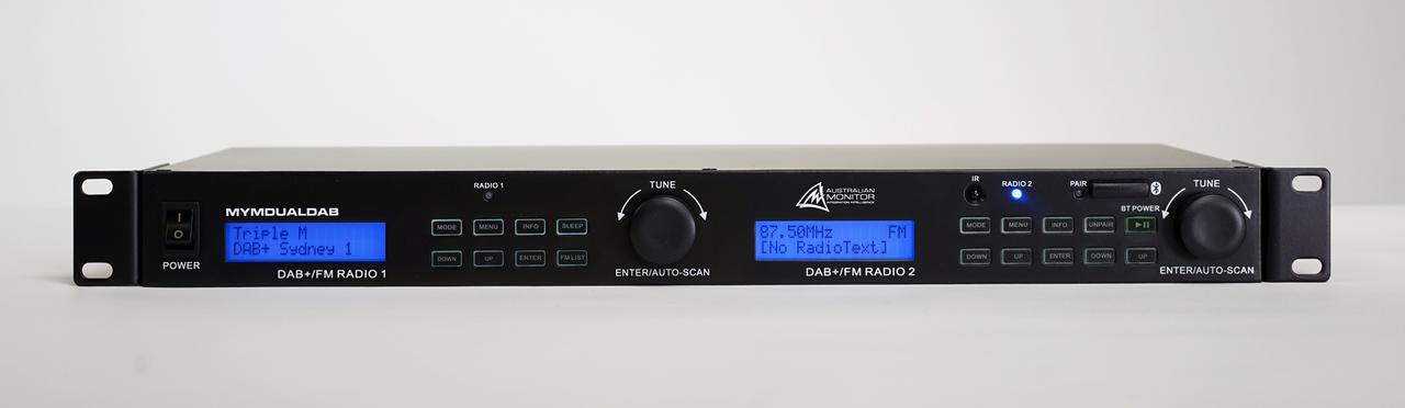 Australian Monitor Dual DAB+ / FM / Bluetooth Audio Player