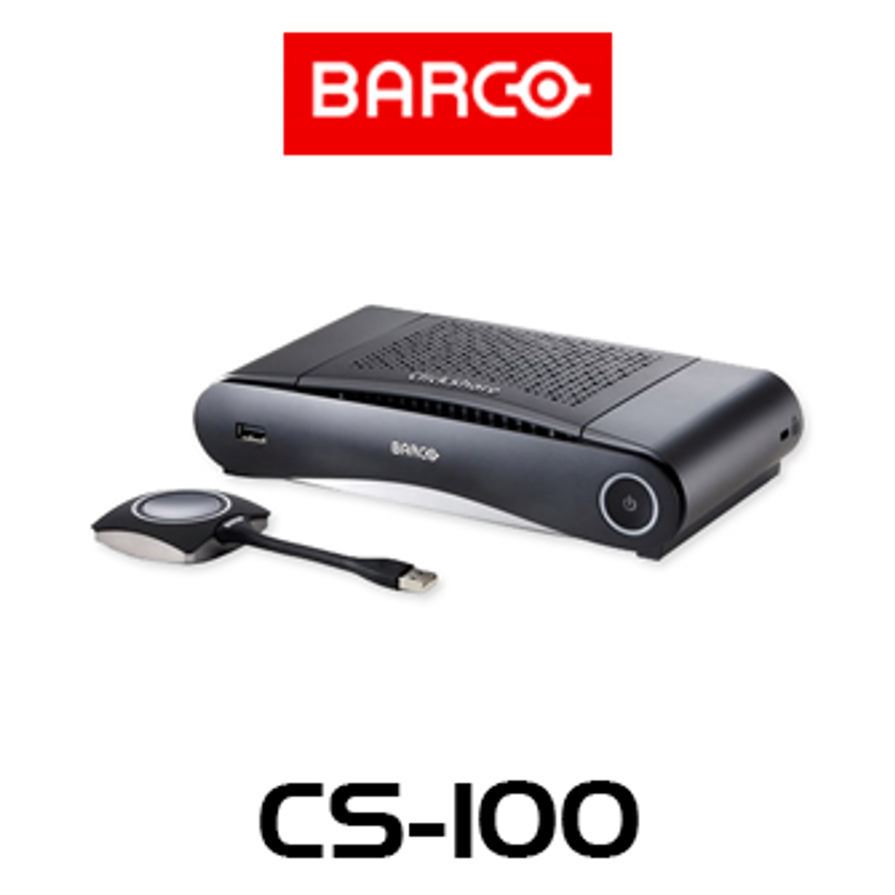 Barco ClickShare CS-100 Stand-Alone Wireless Presentation System