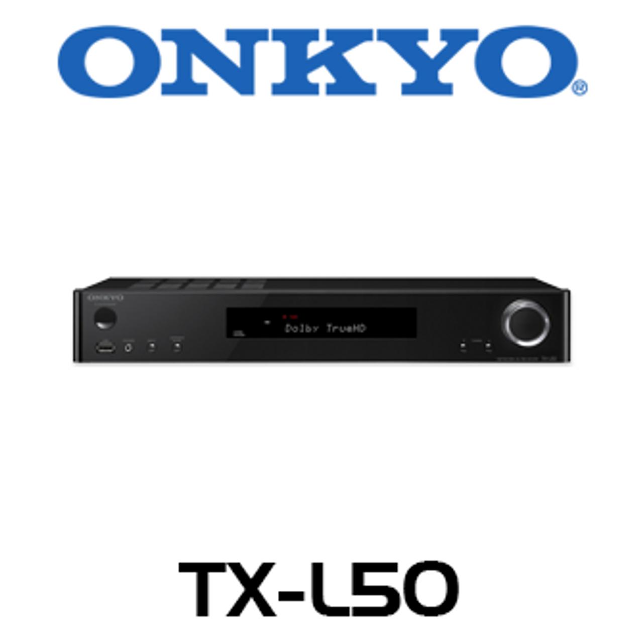 Onkyo Envision TX-L50 5 1-Ch 4K Ready Slimline Network AV Receiver