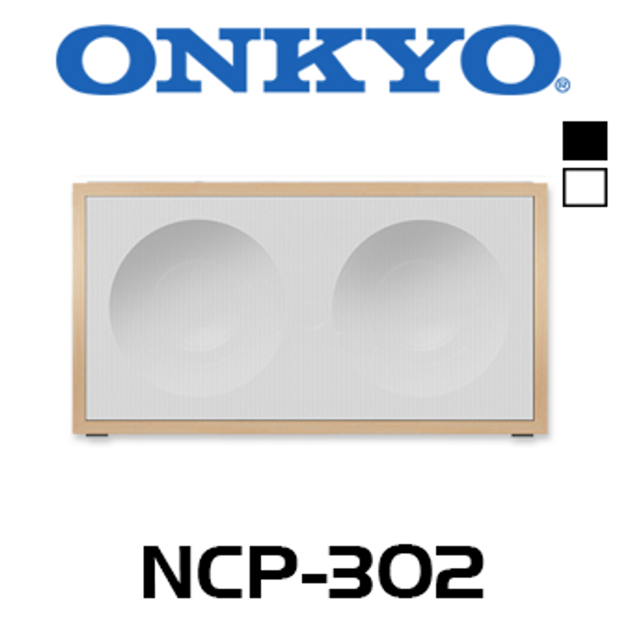 Onkyo NCP-302 Chromecast FireConnect Multiroom Wireless Speaker (Each)