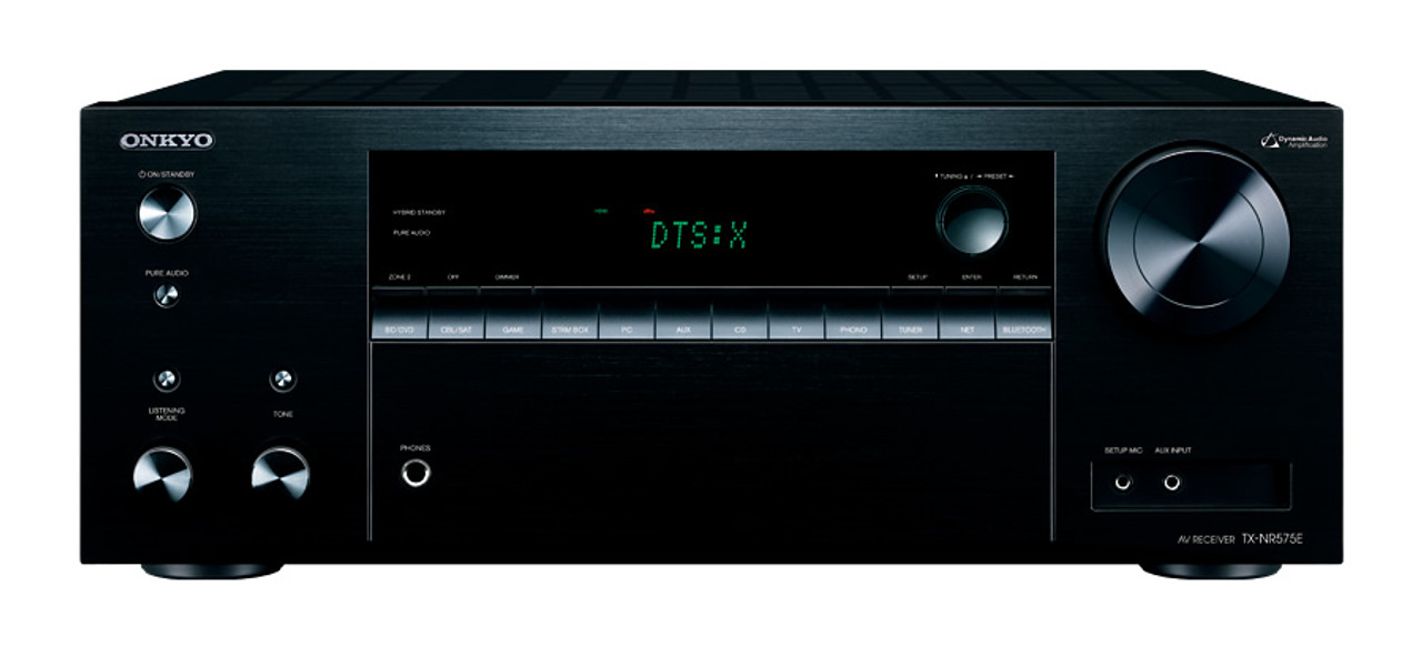 Onkyo TX-NR575E 5.1.2 Atmos Pack with 4800 Floorstanding
