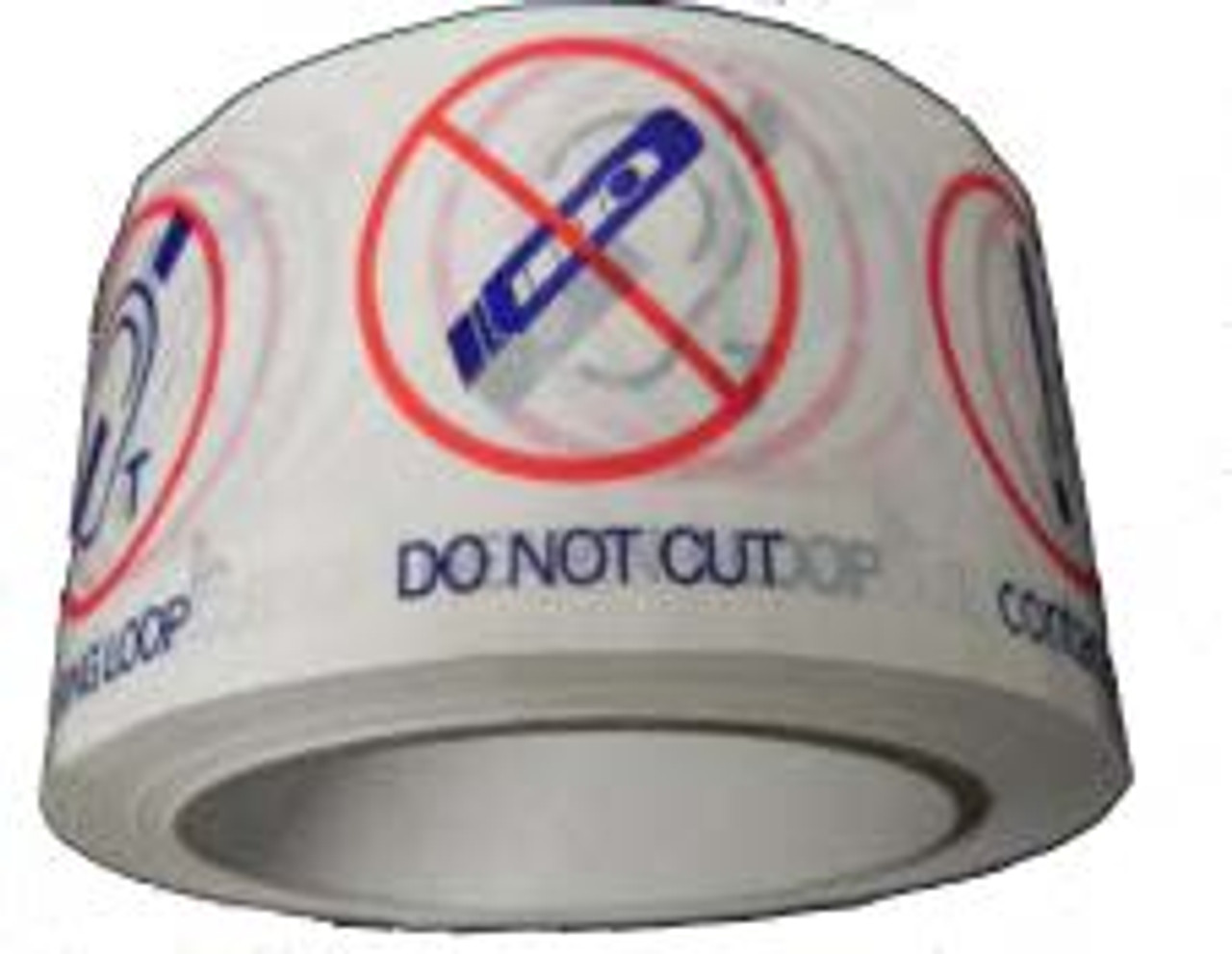 Contacta 48mm x 66m Roll PVC Warning Tape