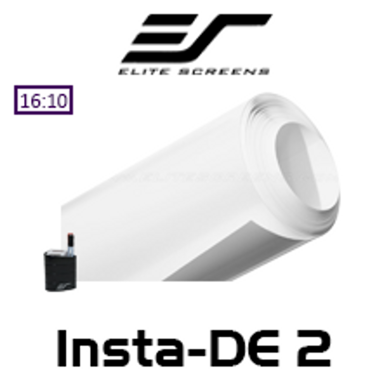 Elite Screens Insta De2 Dry Erase Soft Pad Whiteboard Projection