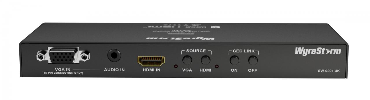 WyreStorm 2x1 HDMI/VGA Smart Switch With CEC Control