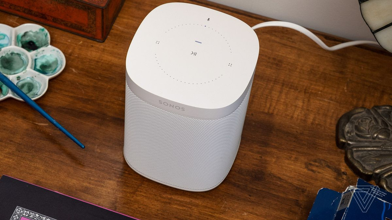 Sonos One Gen 2 Wireless Smart Speaker