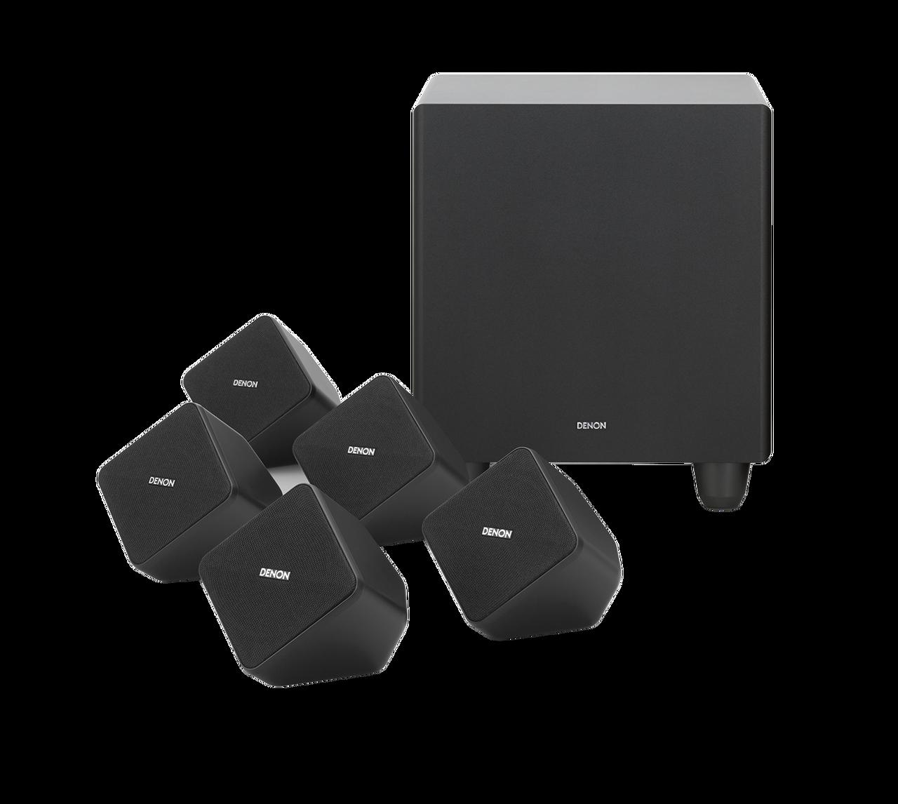 Denon SYS-2020 5 1 Home Theatre Speaker System
