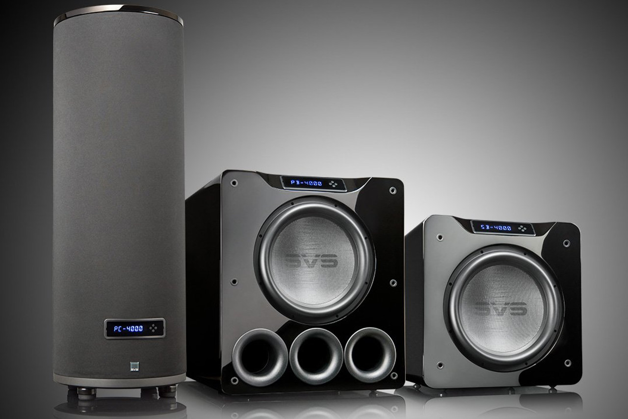"SVS PC-4000 13.5"" 1200W Ported Cylinder Subwoofer"