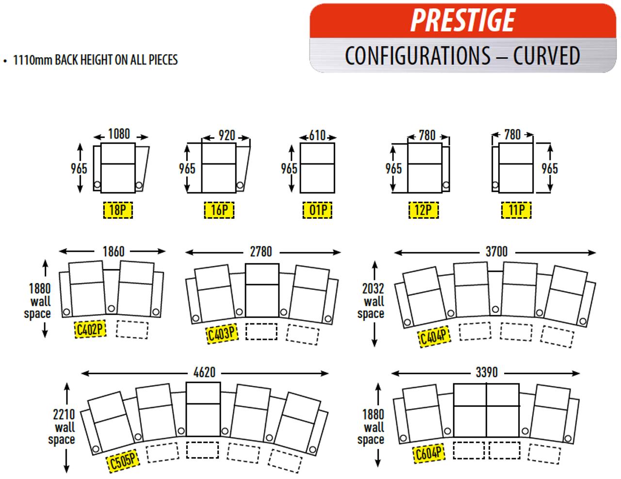 RowOne Prestige Premium Cinema Seating