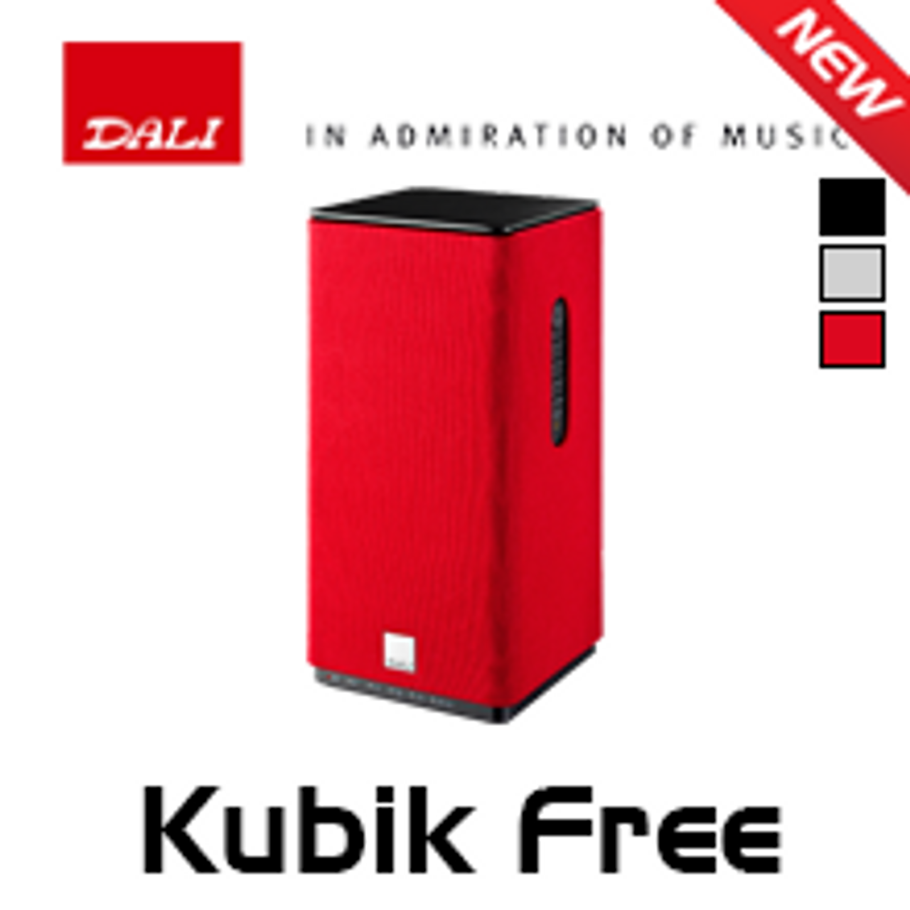 Dali Kubik Free Powered Bluetooth Speaker (Each)