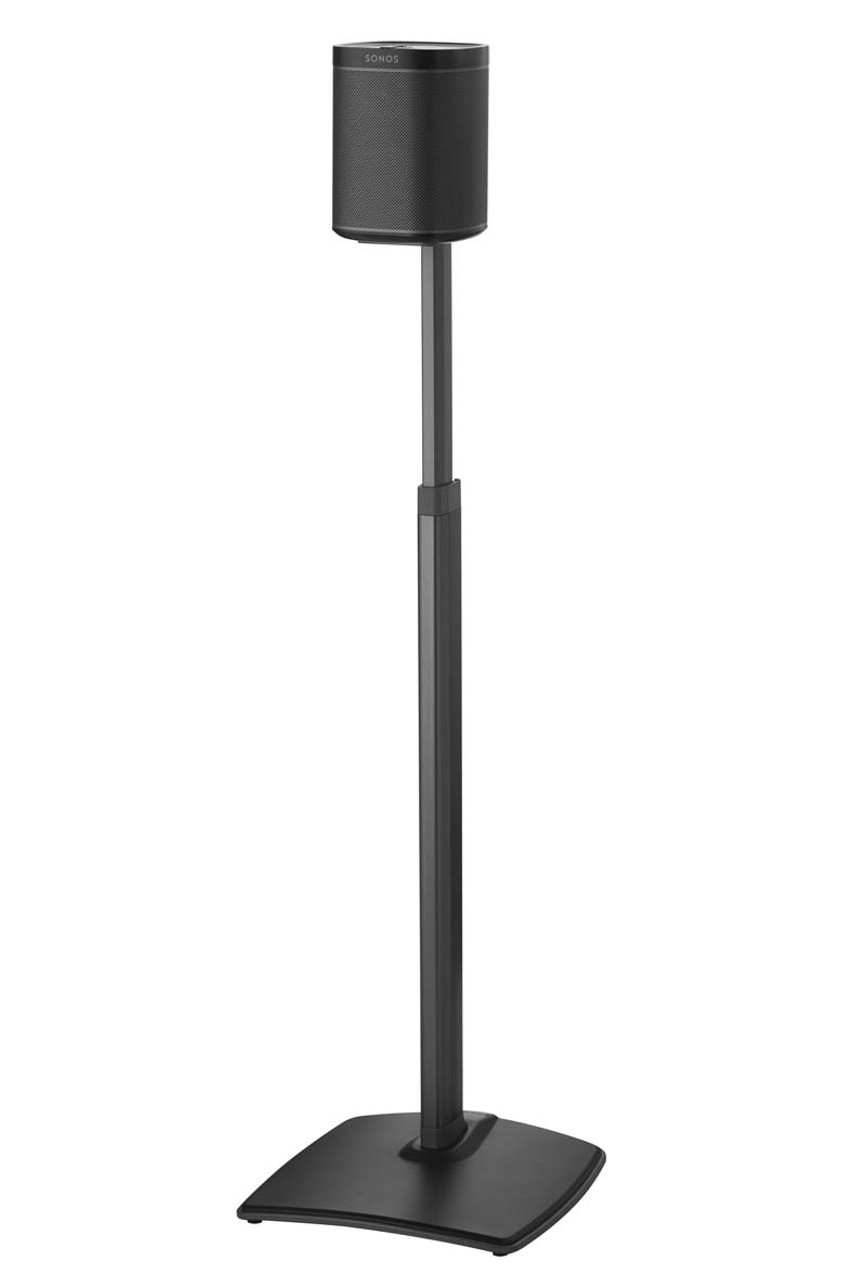 Sanus WSSA Height Adjustable Speaker Stand For Sonos One, Play:1 & Play:3
