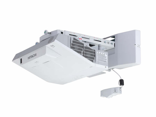 Hitachi CPTW2505WN WXGA Interactive Ultra Short Throw Projector (Wall Mount Optional)