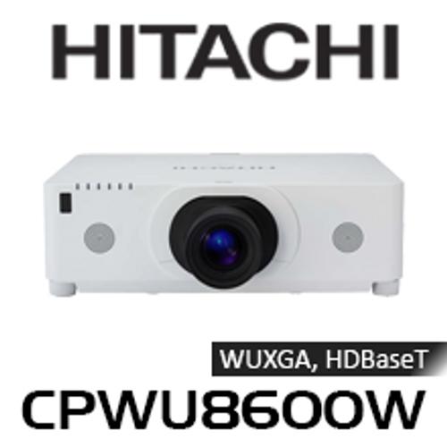 Hitachi CPWU8600W WUXGA 6000 Lumen HDBaseT Edge Blending 3LCD Projector