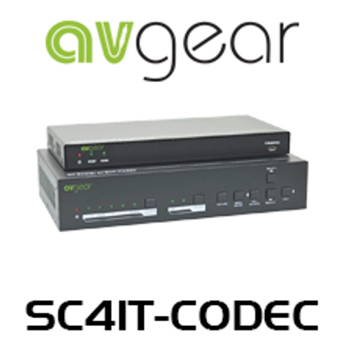 AVGear SC41T-CODEC 4K UHD Scaler With Soft Codec