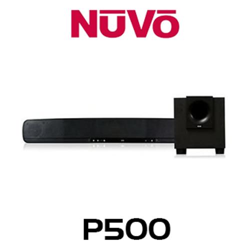 NuVo P500 Player Portfolio Sound Bar & Wireless Subwoofer System