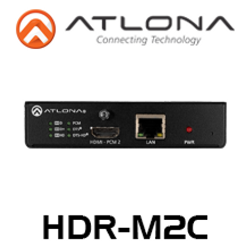 Atlona 4K HDR Multi-Channel Digital to Two-Channel Audio Converter