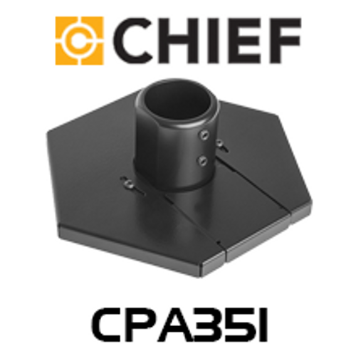Chief CPA351 Floor-To-Ceiling Low Profile Collar Plate