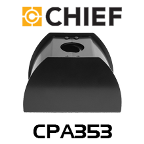Chief CPA353 Floor-To-Ceiling Clamp Style Plate