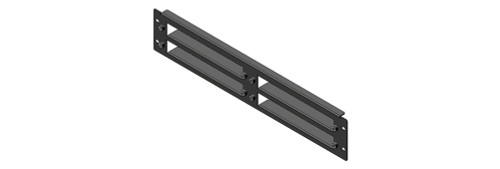 BluStream RSU-2RU Universal 2RU Rack Shelf Unit with 4x Vertical Blade Shelves