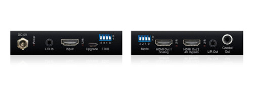 BluStream SC12SP-V2 1:2 HDMI 2.0 4K Splitter with Audio Breakout & Down-Scaler