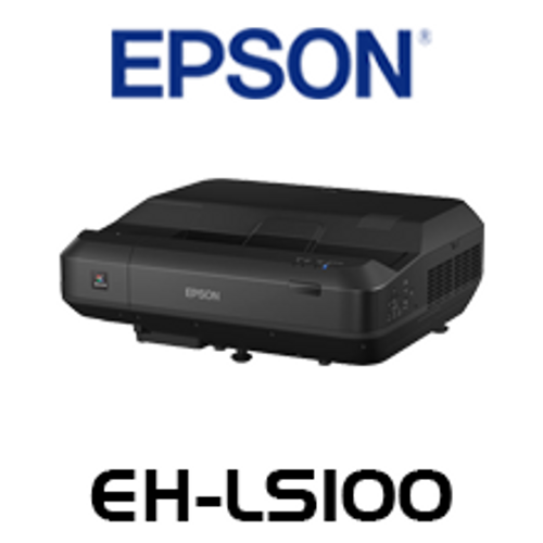 Epson EH-LS100 4000 Lumen WUXGA Laser Ultra Short Throw LCD Projector