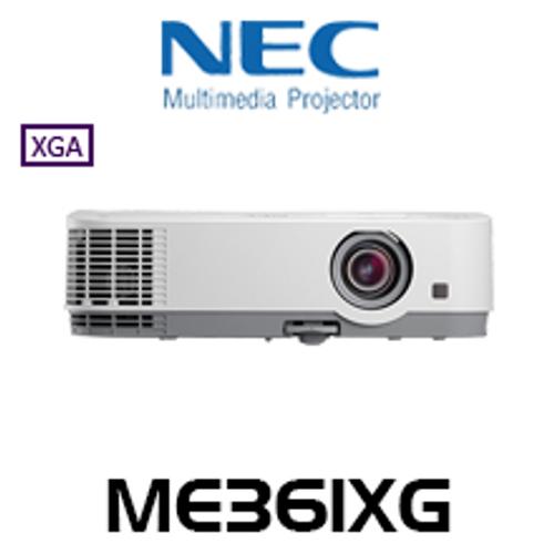 NEC ME361XG 3600 Lumen XGA Portable LCD Projector