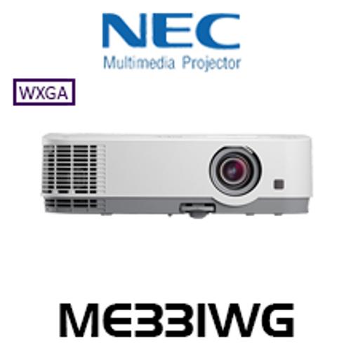 NEC ME331WG 3300 Lumen WXGA Portable LCD Projector