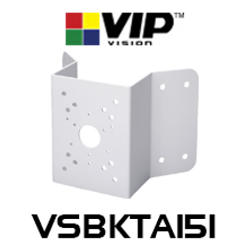 VIP Vision VSBKTA151 Corner Wall Mount Camera Bracket