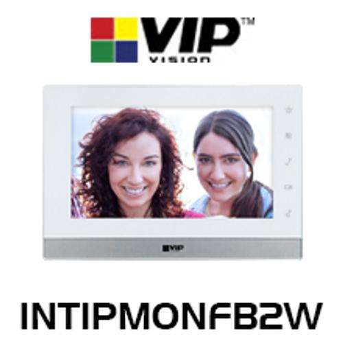 """VIP Vision 7"""" Touchscreen 2-Wire IP Intercom Monitor"""
